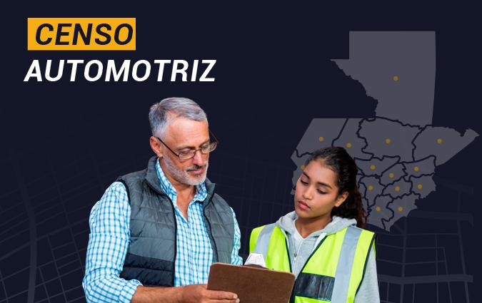Censo Automotriz Guatemala Motores y Más