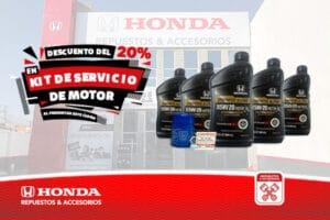 Kit Servicio Motor