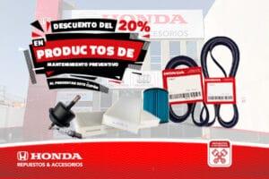 Productos de Mantenimiento Preventivo HONDA