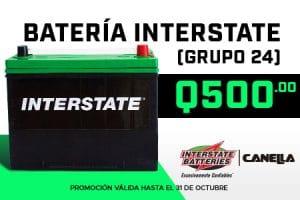 Baterías INTESTATE